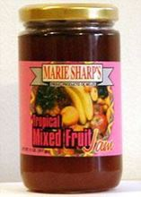 Picture of Marie Sharp's Tropical Mixed Fruit Jam - 20 oz Jar
