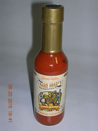 Picture of Marie Sharp's Smoked Habanero Pepper Sauce 5 oz Case of 12