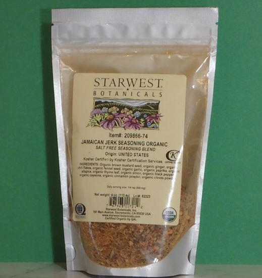 Picture of Organic Jamaican Jerk Seasoning