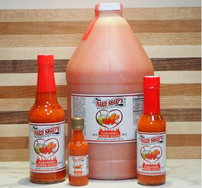 Picture of Marie Sharp's - (HOT) Habanero Pepper Sauce